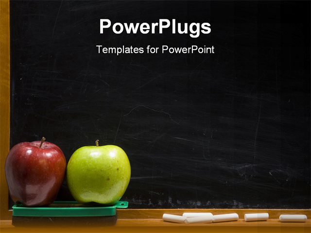 Chalkboard Powerpoint(PPT) Templates | Powerpoint Template for