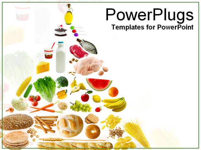Nice Free Powerpoint Templates Food Ornament Resume Ideas