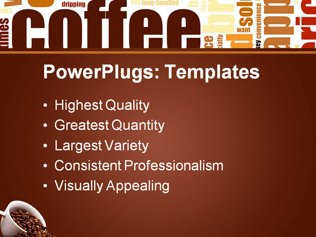 abstract powerpoint templates free. Coffee Powerpoint Template All