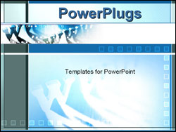 world wide web Animated PowerPoint Template Backgound of www, internet