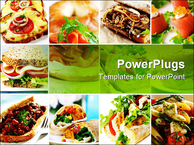 powerpoint templates food