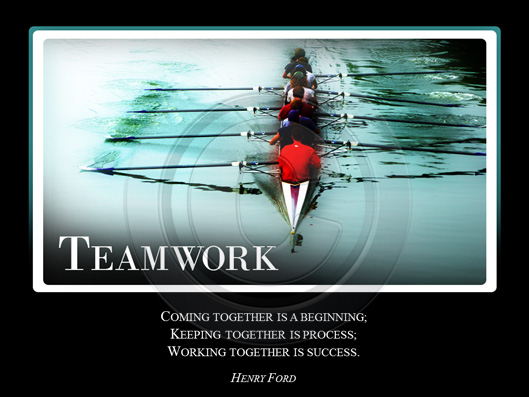 Teamwork Crystalgraphics Motivational Slide For Powerpoint