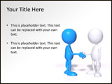 Royalty free handshake PowerPoint templates